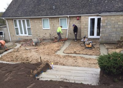 Porch Footings